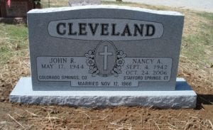 Polished Outline Lettering Style In Grey Granite